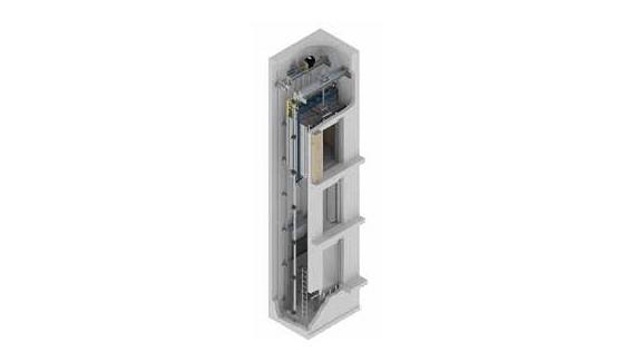 Makina Dairesiz MRL Asansör Sistemleri