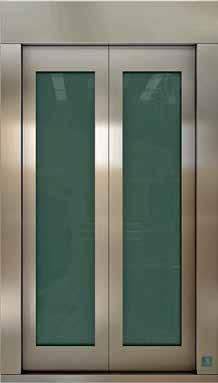 Camlı Paslanmaz Kapı